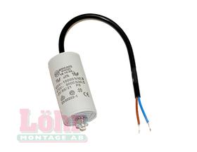 Kondensator 16 µF med kabel