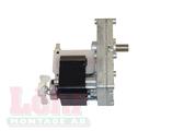 EcoTec / Thermia Motor kort axel moturs rotation, inkl propellerfläkt